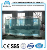 カスタマイズされたアクリルの物質的な海洋のアクアリウムタンク価格