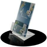 De duidelijke AcrylTribune van de Brochure van 6 Zakken A6