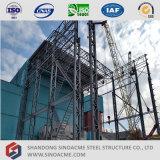 Sinoacme vervaardigde de Hoge Installatie van de Structuur van het Staal van de Kolom van het Rooster van de Stijging