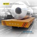 動力を与えられた平らな転送のカートの中国の鋼鉄コイルの柵の移動車