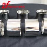 Customed 자동 선반 도는 아연에 의하여 도금되는 강철 또는 고급장교 또는 구리 Rondelles/CNC 절단 금속 부속