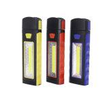 3W LED COB torche torche portable en plastique