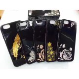 La mode de l'impression Glitte TPU Housse pour iPhone 6/6 Plus