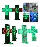 좋은 가격을%s 가진 P10 옥외 두 배 편들어진 LED 십자가