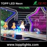luz de néon flexível do diodo emissor de luz 230V do brilho elevado para o canal de televisão