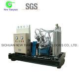 Compresor del aumentador de presión del gas del hidrocarburo para la recuperación del gas de la refinería de petróleo