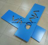 Деятельность вырезывания лазера изготовления тормоза металлического листа высокой точности алюминиевая
