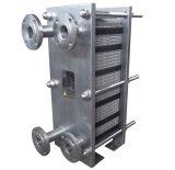 Tipo de placa industrial de acero inoxidable 304 cambiador de calor