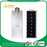 luz de calle solar de 50W LED con diseño integrado