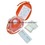 Маска CPR карманн устранимой скорой помощи непредвиденный
