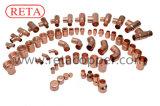 Kupferne passende Kupplung mit Punkt