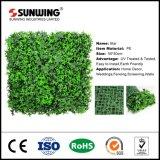 Diseñador de la decoración del hogar fácilmente ensamblado seto artificial