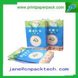 La manera de empaquetado modificada para requisitos particulares del portador del regalo de la impresión empaqueta la bolsa de papel