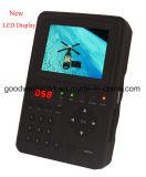 """소형 3.5 """" TFT 휴대용 디지털 LCD 인공위성 신호 측정기, DC 11.1V 전원 입력"""