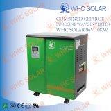 Sistema 10kw 10000W di uso della casa e dell'annuncio pubblicitario degli invertitori solari di griglia