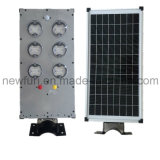 15W All in One Solar Poste com sensor de movimento para iluminação exterior