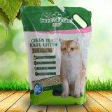Grüner Tee-Geruch-Tofu-Katze-Sänfte mit einfacher Schaufel