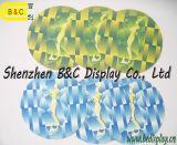 ロゴによって印刷されるカスタムペーパーコースター、Printabaleのカスタム円形のSGS (B&C-G117)が付いている吸収性の紙コップのマット