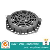 둥근 연성이 있는 철 맨홀 뚜껑