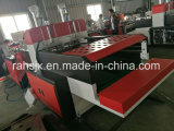 De automatische Dubbele Scherpe Machine van de Zak van de T-shirt van de Lijn (hsrq-450X2)