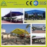 Опорную цен производителя оптовая торговля алюминиевой освещения сцены шаровой кран с полукруглой Площади