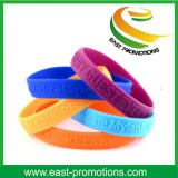 Wristband del silicone reso personale festival su ordinazione per le promozioni