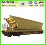 Vagão Railway do funil da mina, carro do trem para meus, padrão de Uic