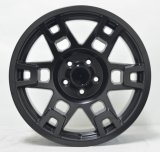 16 '' en aftermarket 17 '' legeringswiel in zwart machinegezicht