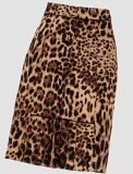 Online Wholesale Manufacturerwomen Maxi Leopard Printing Pencil Saias