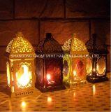 Hollowing out Arte Metal suporte para velas Tealight, suporte para velas