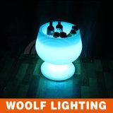 Colorido de la batería recargable LED cubo de hielo