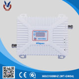 900/2100MHz GSM de Hulp2g 3G Mobiele Spanningsverhoger van het Signaal voor Huis