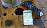 Anti-lost tracker Locator pour téléphone, clé, animaux de compagnie et porte-monnaie-Sliver