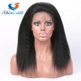 Парики фронта шнурка человеческих волос париков волос женщин полные