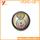 Монетка сувенира высокого качества с плакировкой золота (YB-c-031)
