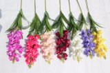 Silk künstliche Blumendelphinium-Fälschungs-Blumen für Haupthochzeits-Dekoration