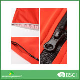 Waterproof Zipper 3m safety Reflective Tape Work Vest