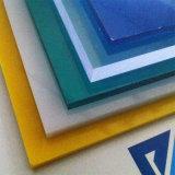 Novo material 100% de policarbonato sólido de cor para mobiliário de folhas