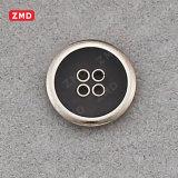 Botón Botón metálico de moda el botón de coser