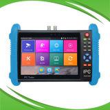 H. 265 IP de la pantalla táctil, AHD, Cvi, Tvi Comprobador CCTV con entrada HDMI
