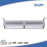 Garantía de 5 años Inudstrial LED LED 100W de luz de la Bahía de alta velocidad de 120 lm/W