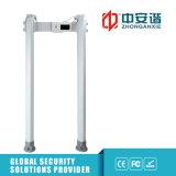 IP65 impermeabilizan la caminata oval al aire libre a través de detector de metales portable de la arcada de la puerta de seguridad con la pantalla táctil del LCD