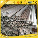6061, 6063 Perfil de alumínio extrudado para construção e mobiliário