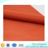 Горячим ткань прокатанная сбыванием Non сплетенная (PP+PE) с высоким качеством