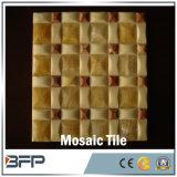 De aangepaste Nieuwe Tegels van het Mozaïek van de Stijl Gele Marmeren voor Muur
