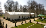1000 شخص PVC خيام معرض الهيكل / الحدث حفل زفاف خيمة