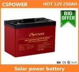 12V250ah ISO Vds de la UL del CE de la vida 20years de la Sistema Solar Bateria