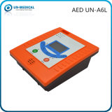 Defibrillator esterno automatizzato portatile di pronto soccorso con il software del PC