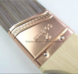 Effilé synthétique Filament raccourci poignée en bois mur Pinceau