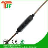 Ricevitori telefonici rotondi dei trasduttori auricolari del cavo dell'universale 3.5mm